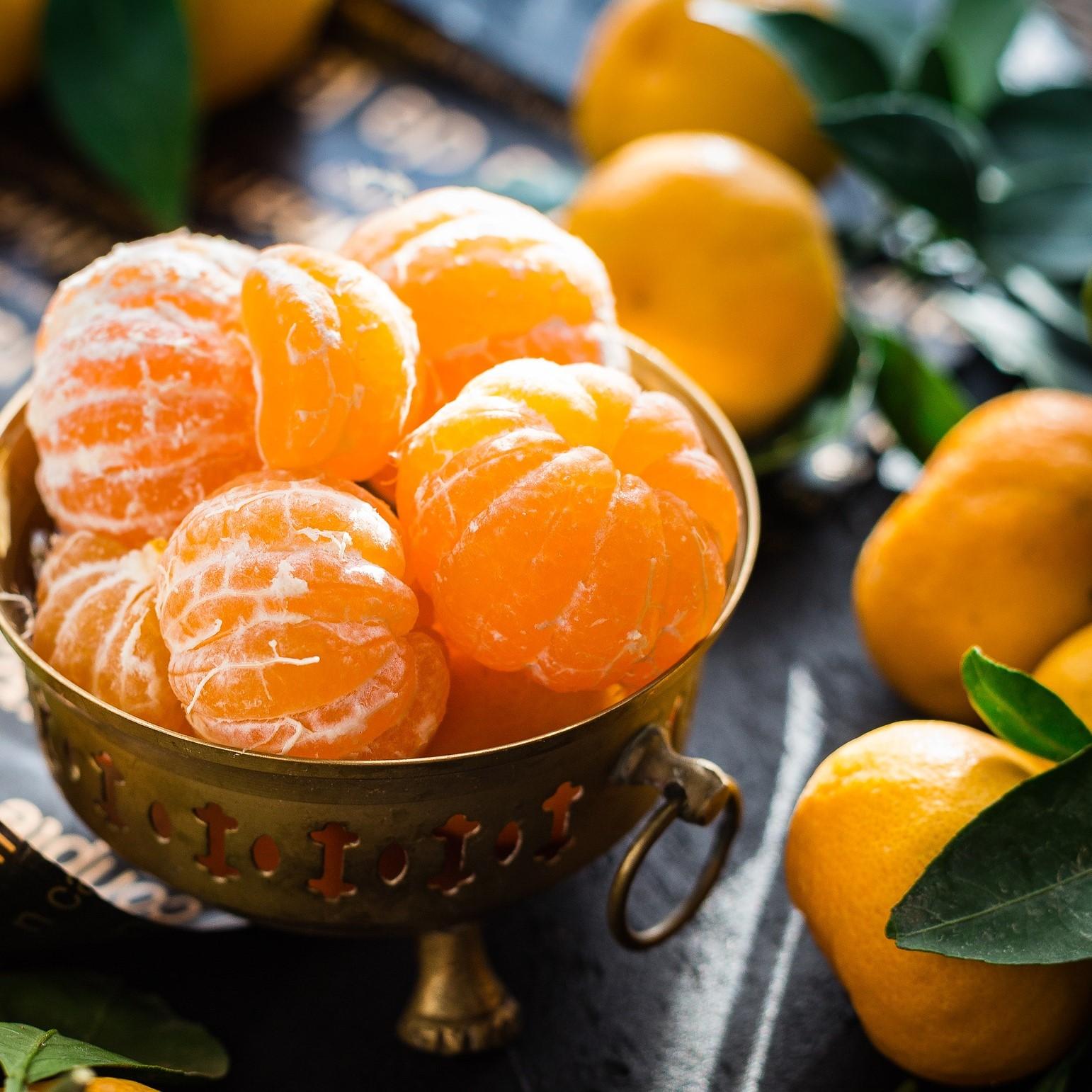 Mandarines dans un bol