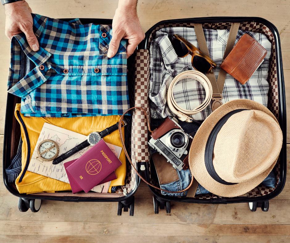 L'essentiel dans la valise cabine