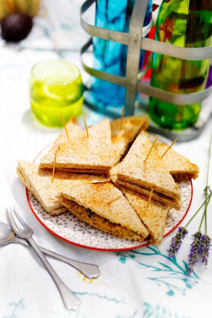 Sandwichs Thon Avocat