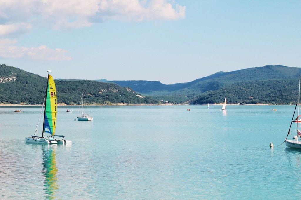 Activités du lac Sainte-Croix