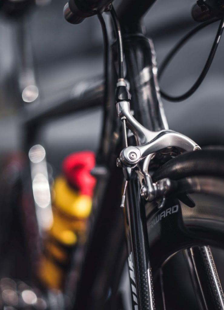 Vérification des freins vélo