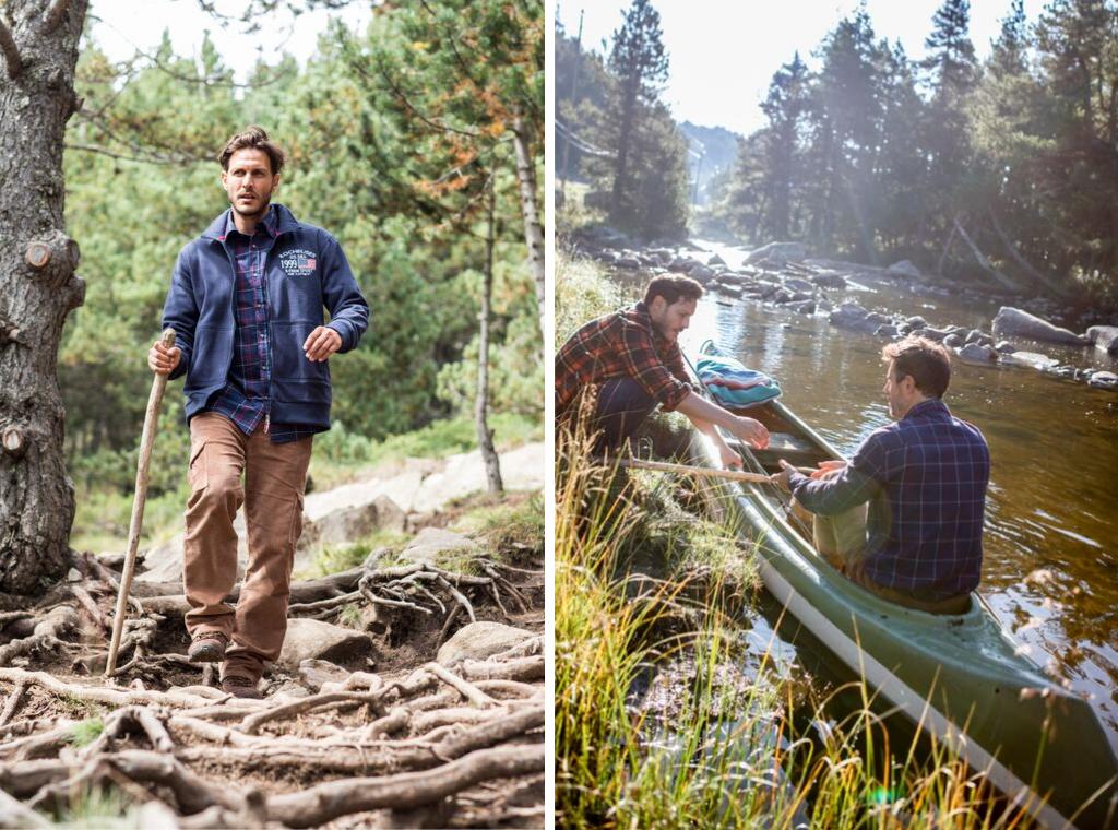 Balade en canoë et randonnée