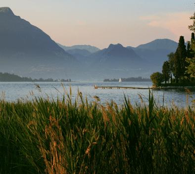 Paysage de lac