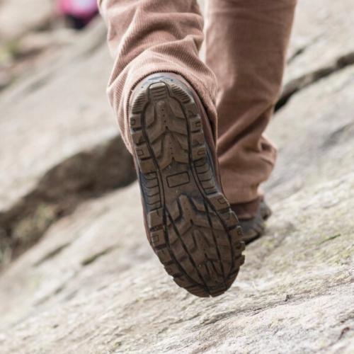 Semelle d'une chaussure de randonnée