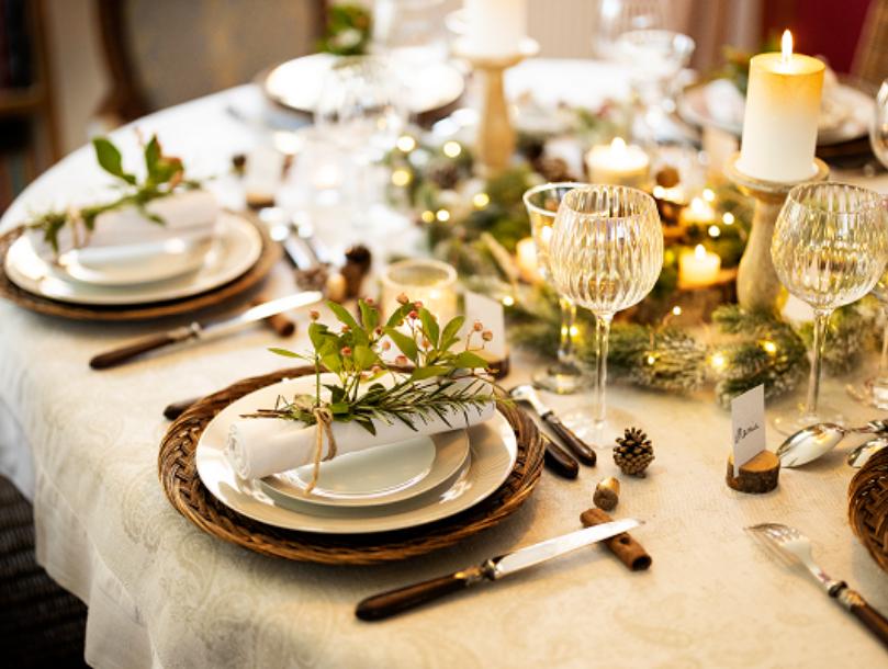 Décorer sa table de Noël