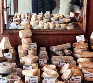 Les fromages par régions
