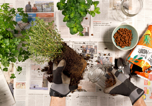 créer porte plante