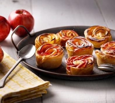 Rosaces aux pommes