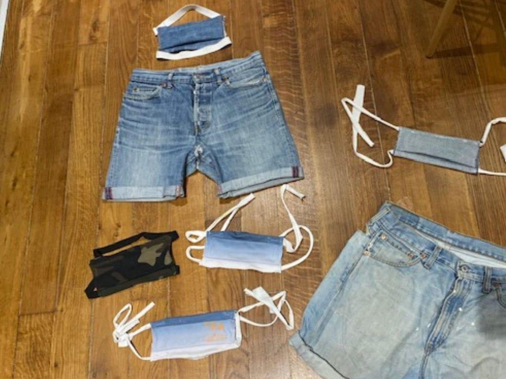 Masque en jean