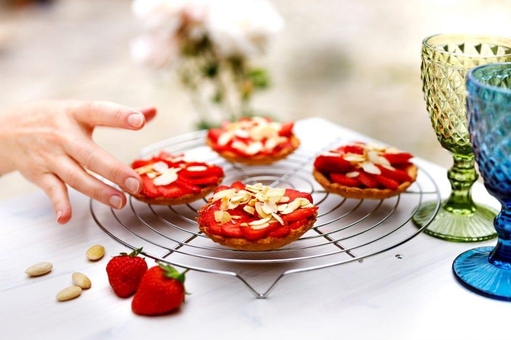 Barquettes aux fraises