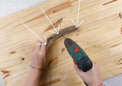 Carillon coquillage ; DIY