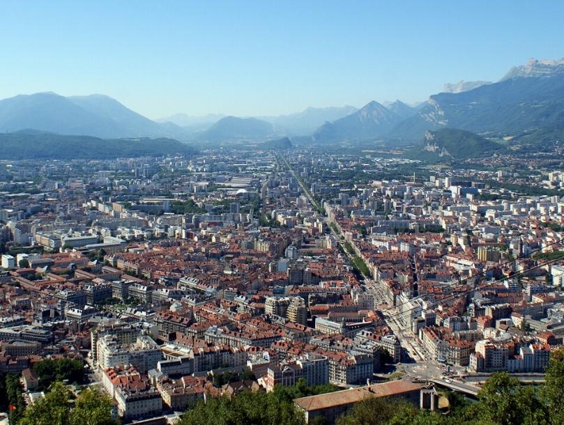 Grenoble, « à chaque bout de rue, une montagne »