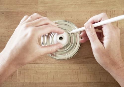Fabriquer une lampe avec un bocal