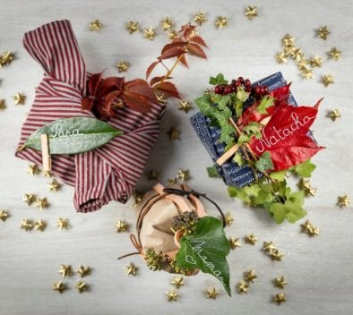 Emballer ses cadeaux : DIY