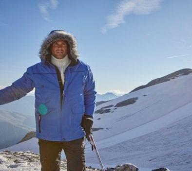 balade dans les alpes randonnée