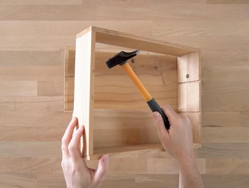 Fabriquer un porte manteau en bois