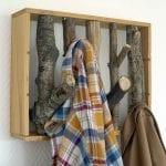 porte manteau en bois