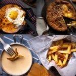 welsh tarte au sucre frites aux maroilles