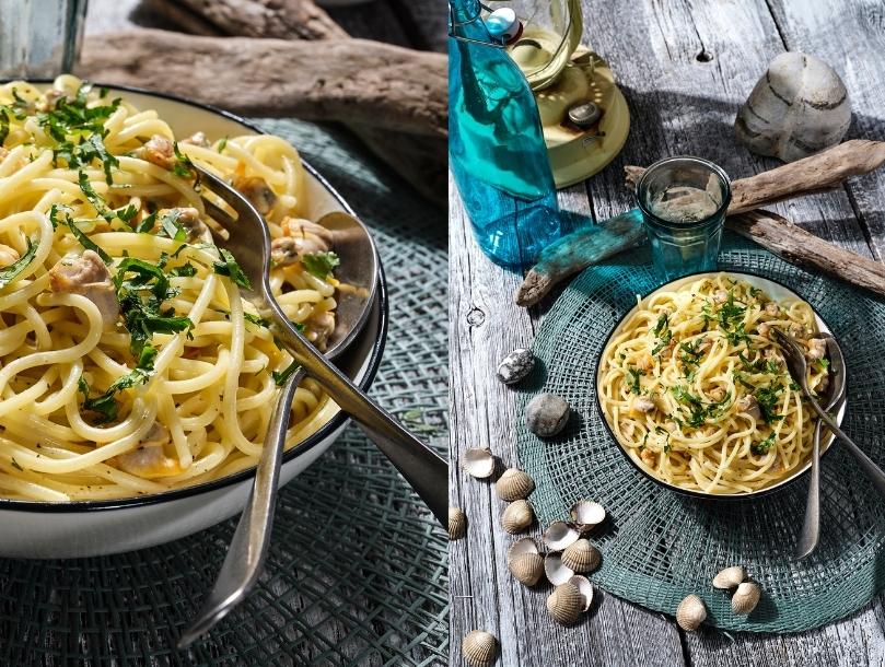 Spaghettis aux coques