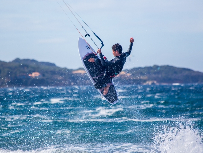 kite surf mer