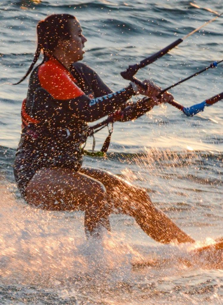 femme ski nautique
