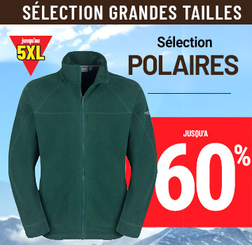 polaires grandes tailles mkp