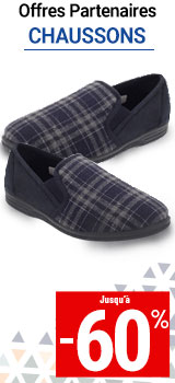 chaussons hommes MKP