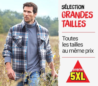 grandes tailles homme