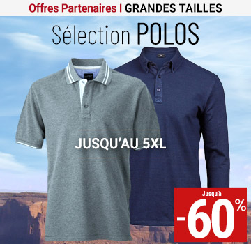 grandes tailles polo mkp